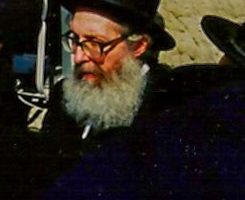 Rav Nosson Tzvi Finkel being maspid